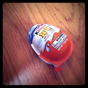 My first kinder egg experience